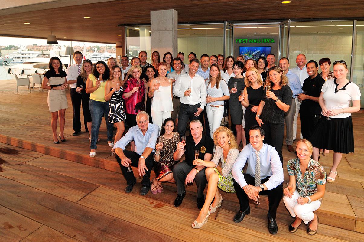 First Mallorca inauguration de leur nouveau locaux.