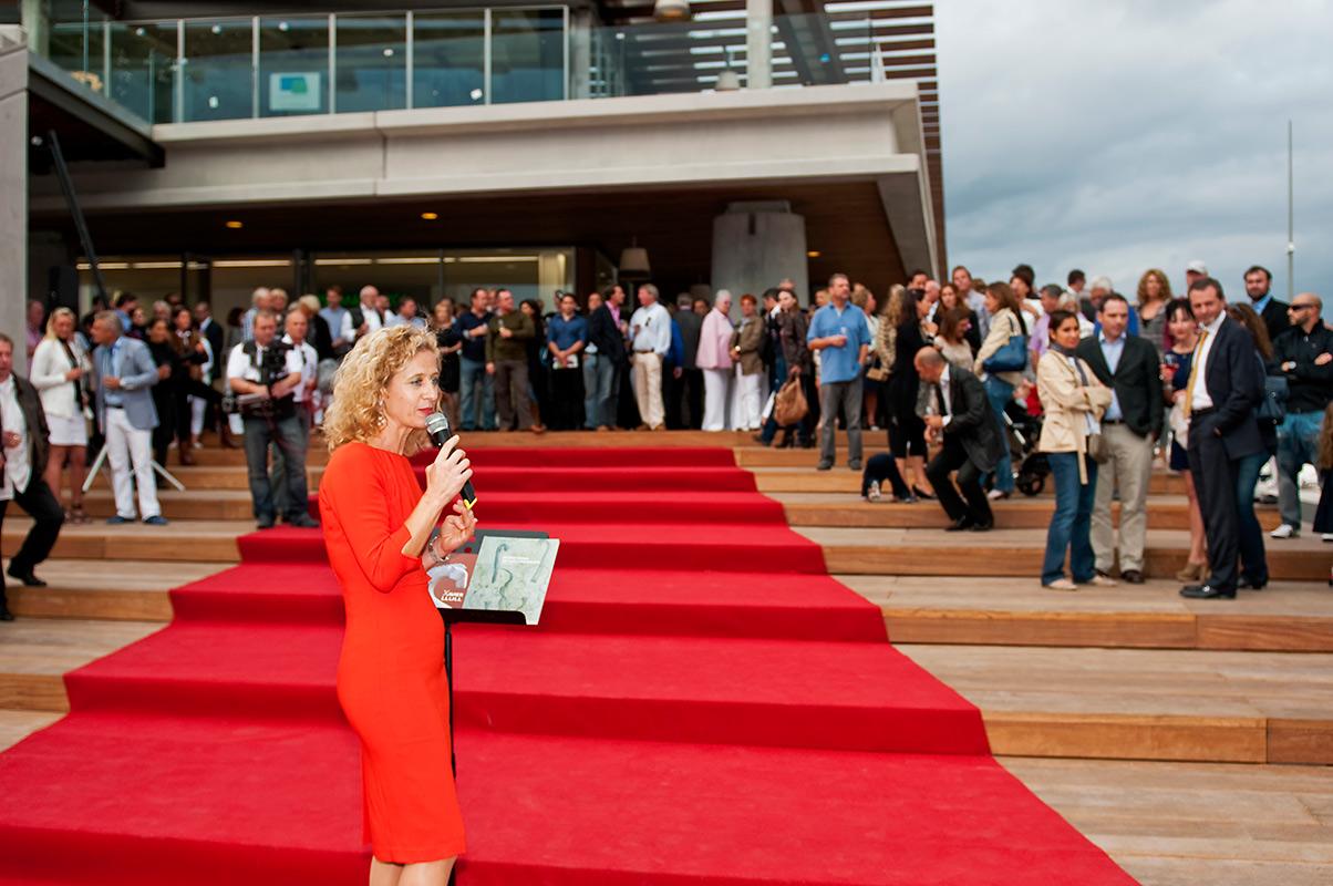 First Mallorca inauguration de leur nouveau locaux dans le port Adriano à Majorque