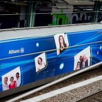 TGV Allianz en gare de Lyon Perrache