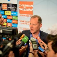 Conférence de presse du Critérium du Dauphiné